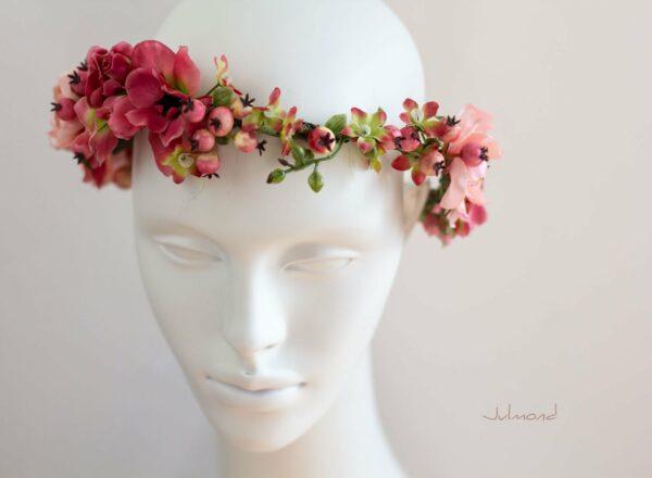 Florentine Haarband Blumen Oktoberfest Elfenkrone-06