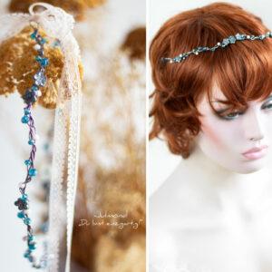 Francia Haarschmuck Perlen Blau-04