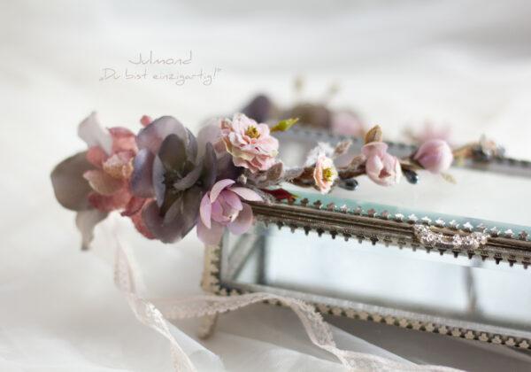 Gandalie Haarschmuck Blumenkranz Blumen Haarband-02