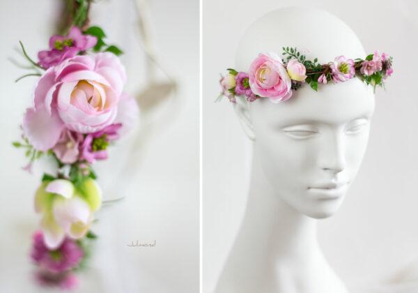 Haarschmuck Braut Rosa-04