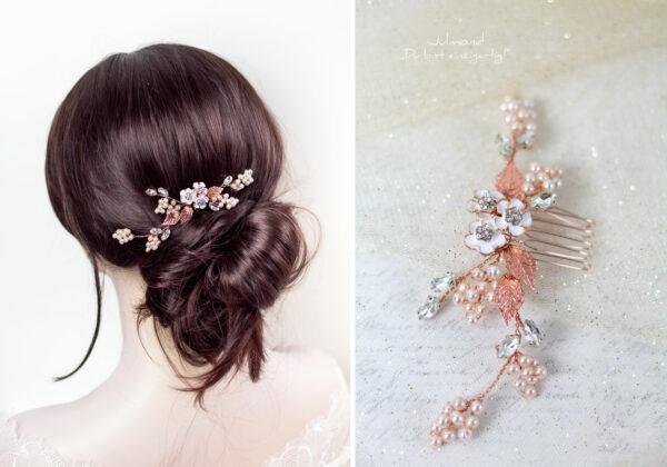 Haarschmuck Hochzeit Rosegold-06