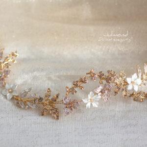 Halina II Gold Diadem Braut-15