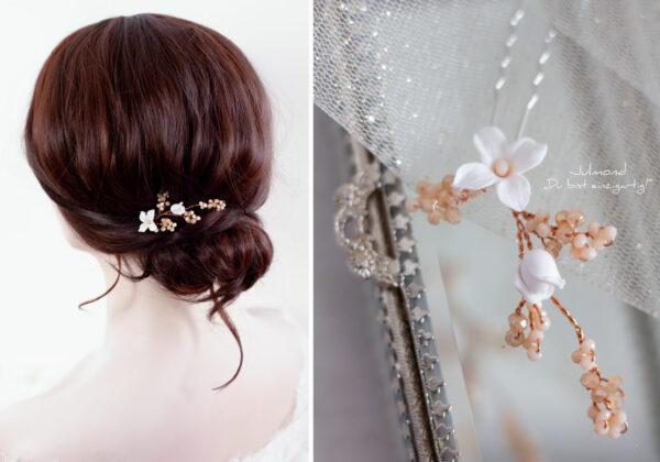 Inessa Haarschmuck Braut Rosegold-09