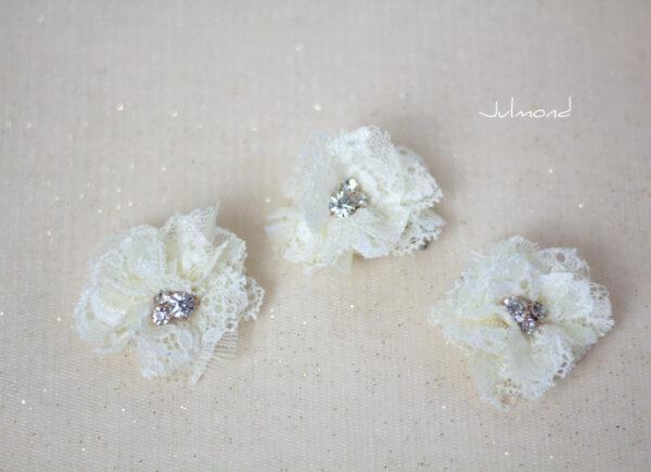 Iris Haarblüte Haarschmuck Blumen Haarclip-06