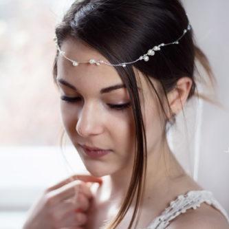 Isabell Haarband Perlen Hochzeit Tiara-15
