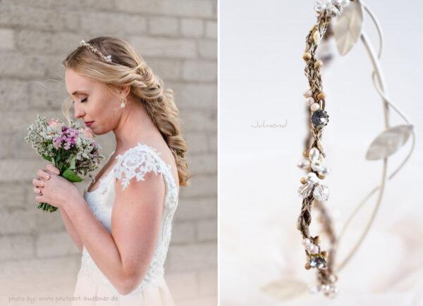 Isalie Hochzeit Diadem Perlen Bauernhochzeit-11