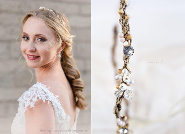 Isalie Hochzeit Diadem Perlen Bauernhochzeit-12