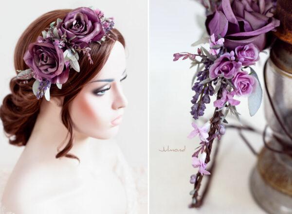 Isidra Blumenkranz Vintage Braut-05