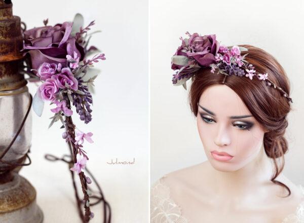 Isidra Blumenkranz Vintage Braut-06