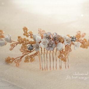 Isis Haarschmuck Braut Rosegold-04