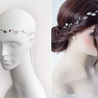 Ivana Haarschmuck Braut Elfenkrone Diadem Perlen Haarband-08