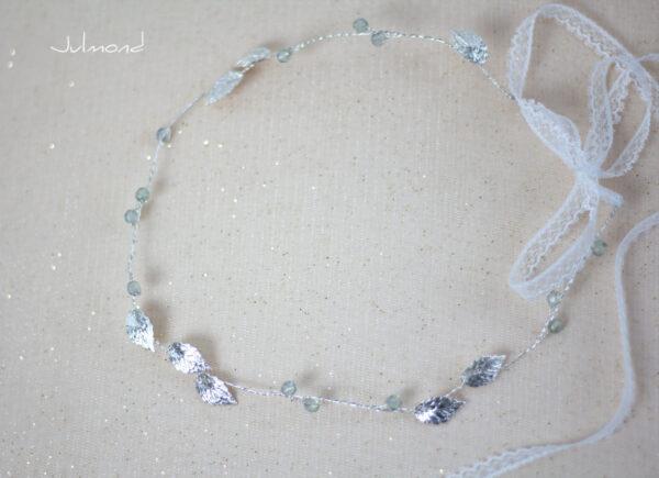 Ivana Haarschmuck Braut Elfenkrone Diadem Perlen Haarband-10