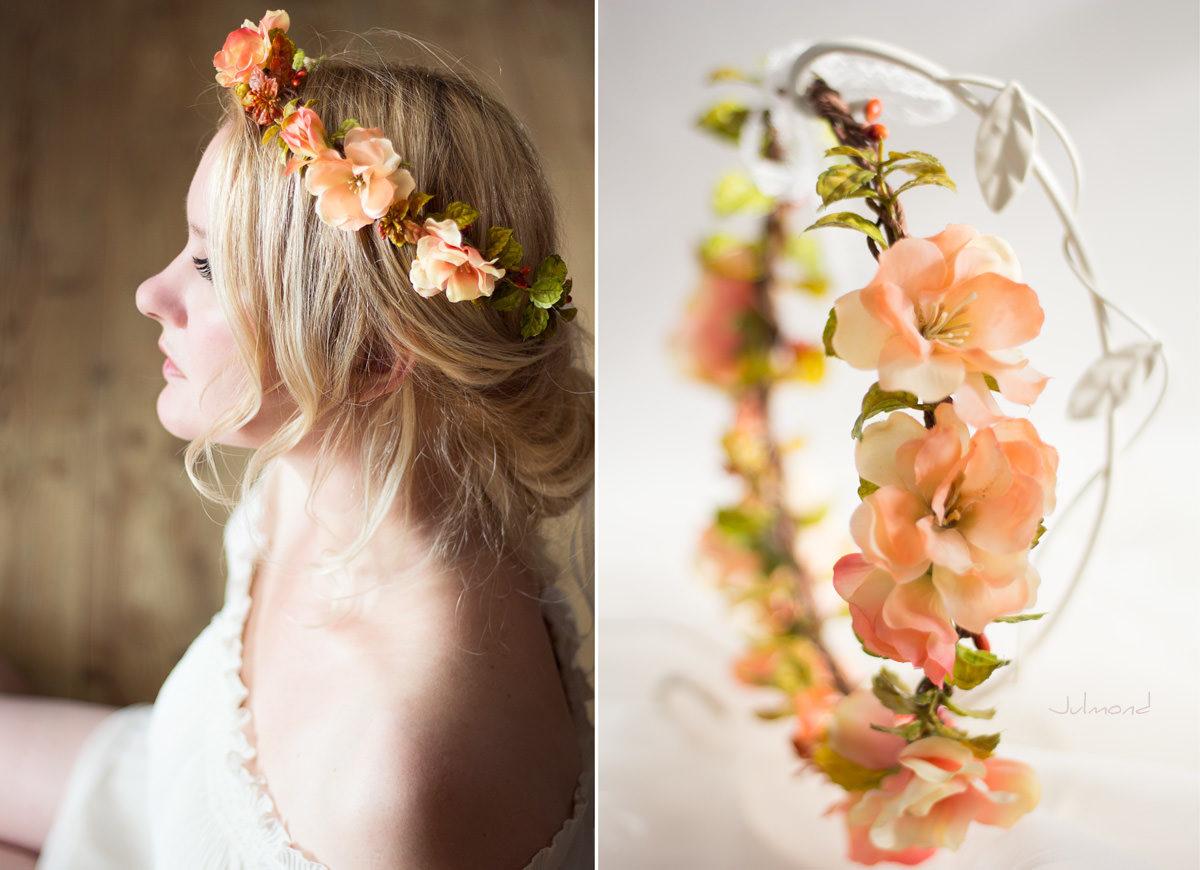 Jaira Blumenkranz Apricot Hochzeit-02