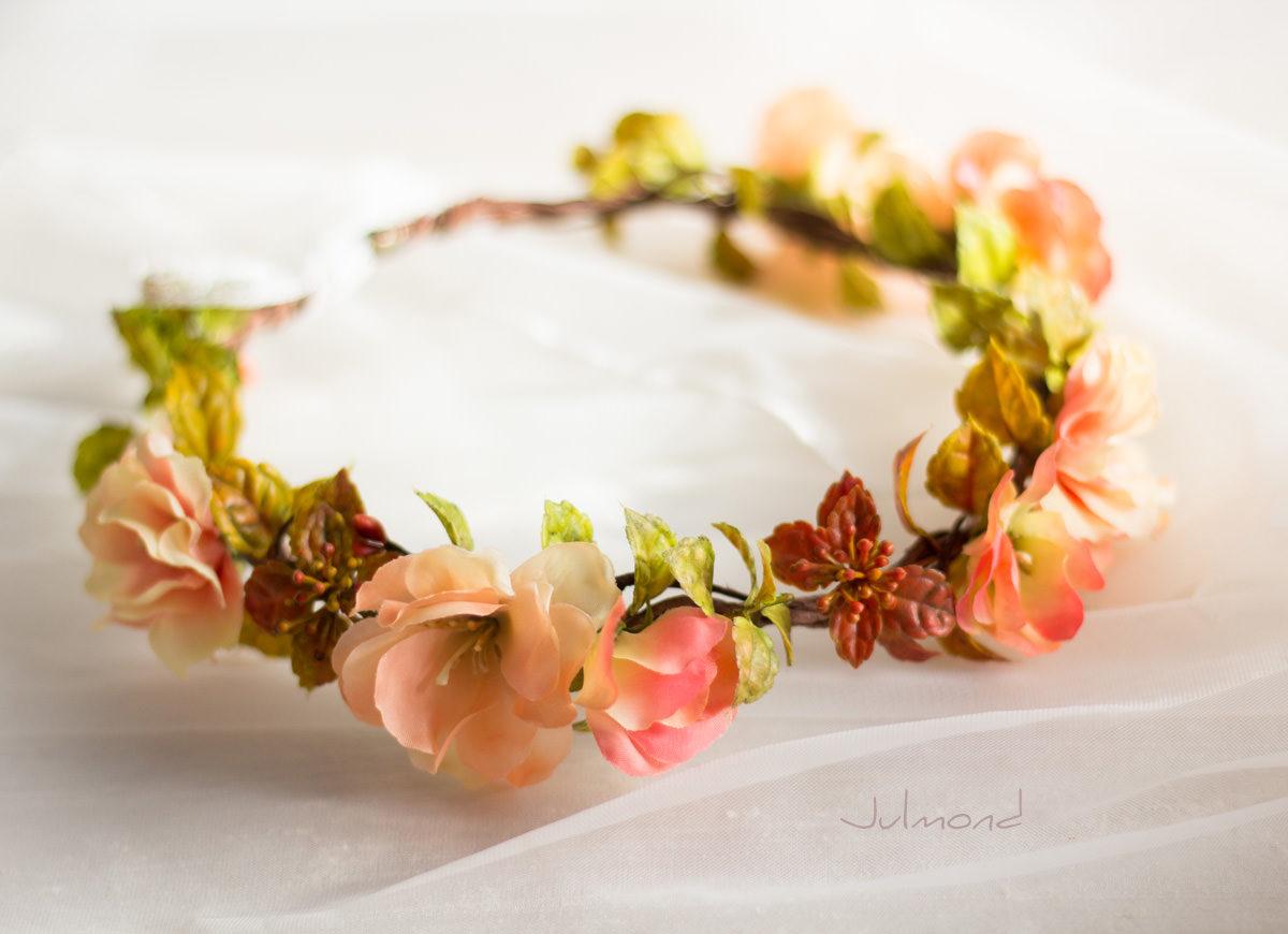 Jaira Blumenkranz Apricot Hochzeit-06