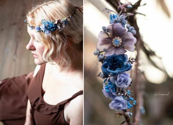 Jamin Blumenkranz Hochzeit Blau Azur-01