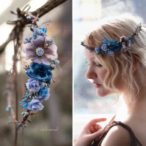 Jamin Blumenkranz Hochzeit Blau Azur-02