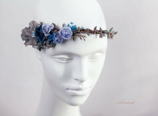 Jamin Blumenkranz Hochzeit Blau Azur-03