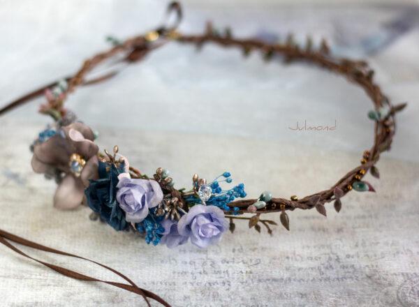 Jamin Blumenkranz Hochzeit Blau Azur-04