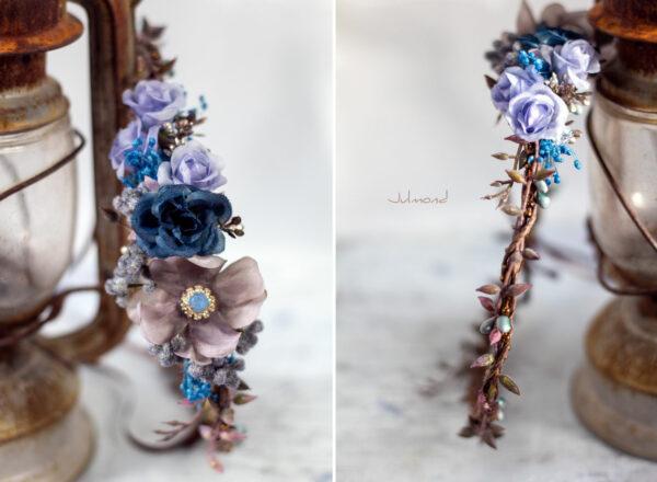 Jamin Blumenkranz Hochzeit Blau Azur-05