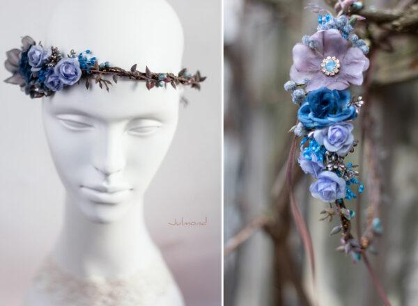 Jamin Blumenkranz Hochzeit Blau Azur-06