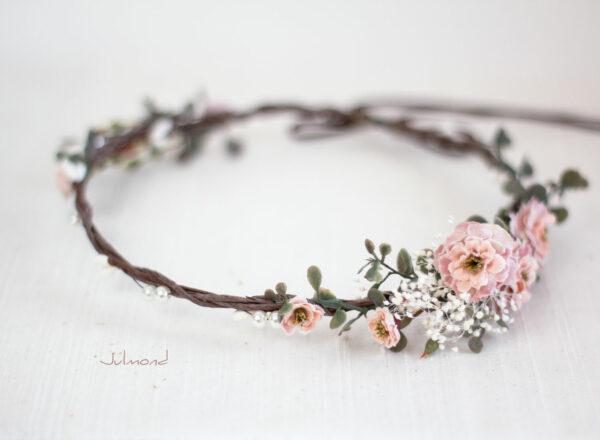 Jera Haarschmuck Hochzeit Haarkranz Blumen-12