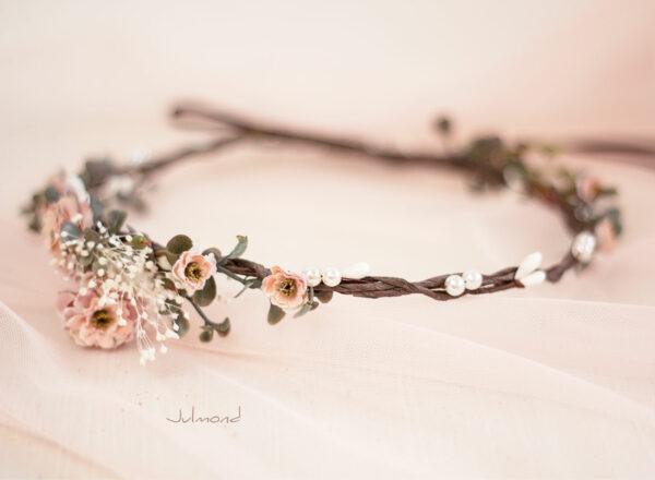 Jera Haarschmuck Hochzeit Haarkranz Blumen-13
