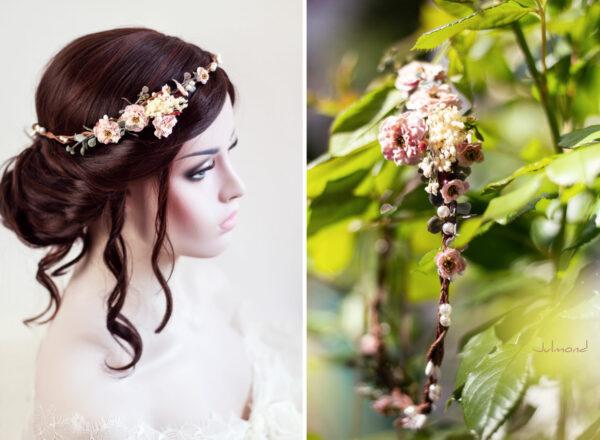 Jera Haarschmuck Hochzeit Haarkranz Blumen-23