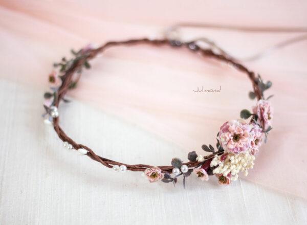 Jera Haarschmuck Hochzeit Haarkranz Blumen-24