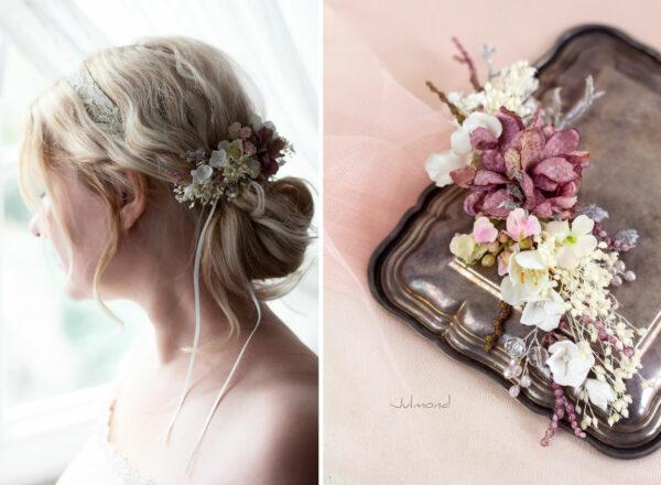 Jho Haarbluete Perlen Braut Haarschmuck Haarclip-02