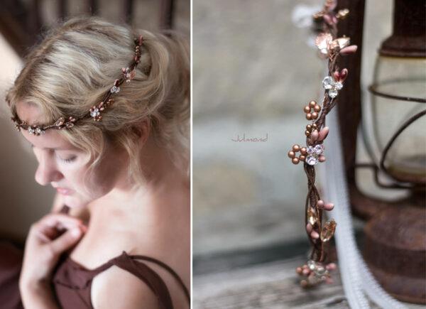 Jola Elven Crown Haarschmuck Rosegold-05