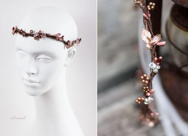 Jola Elven Crown Haarschmuck Rosegold-06