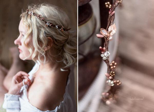 Jola Elven Crown Haarschmuck Rosegold-10