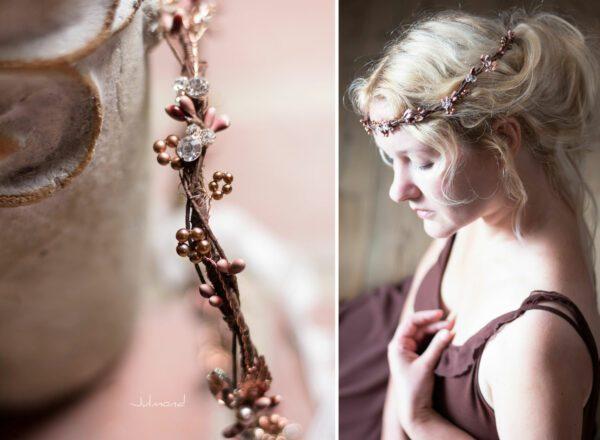 Jola Elven Crown Haarschmuck Rosegold-11