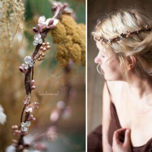 Jola Elven Crown Haarschmuck Rosegold-12