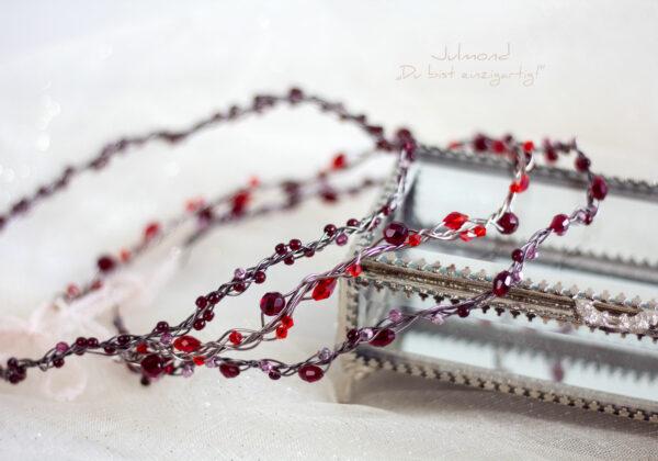 Juliet Haarschmuck Perlen Rot-02
