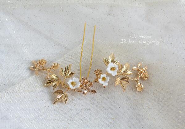 Juna Haarnadel Braut Gold-03