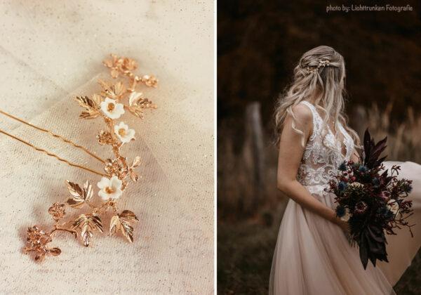 Juna Haarnadel Braut Gold-06