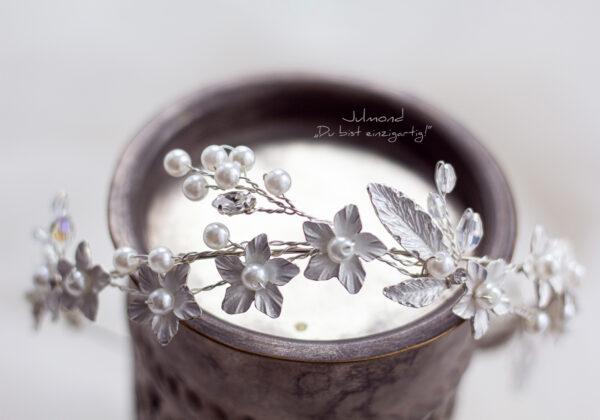 Ladina Haarschmuck Hochzeit Ivory-10
