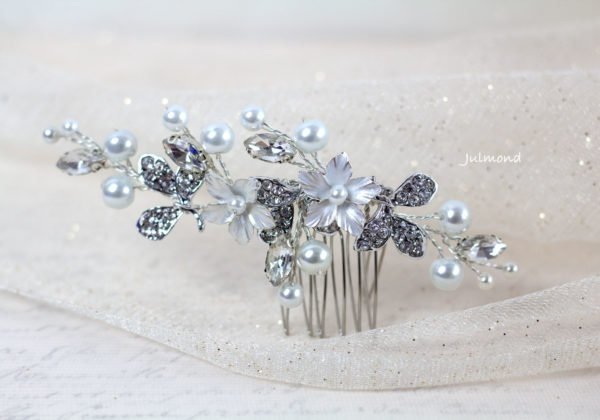 Lanea Haarschmuck Hochzeit Perlen-10