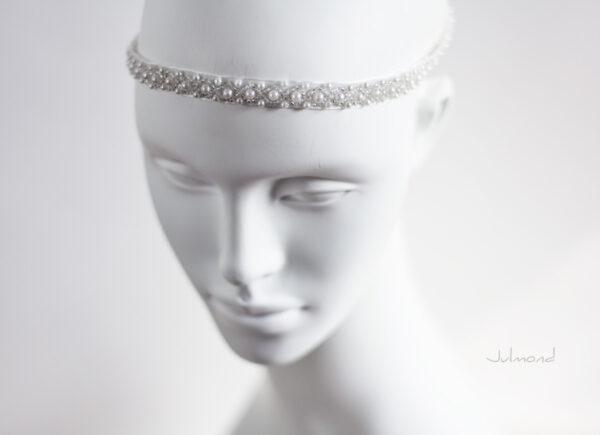 LaPerla Haarband Braut Perlen Hochzeit-10