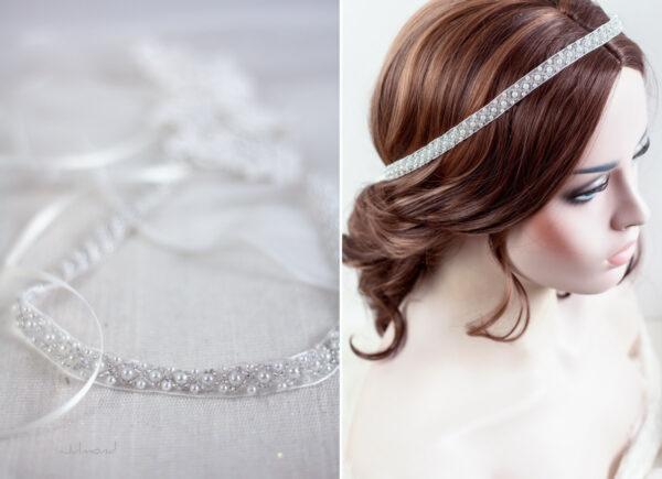 LaPerla Haarband Braut Perlen Hochzeit-11