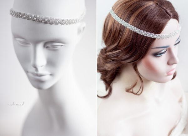 LaPerla Haarband Braut Perlen Hochzeit-12