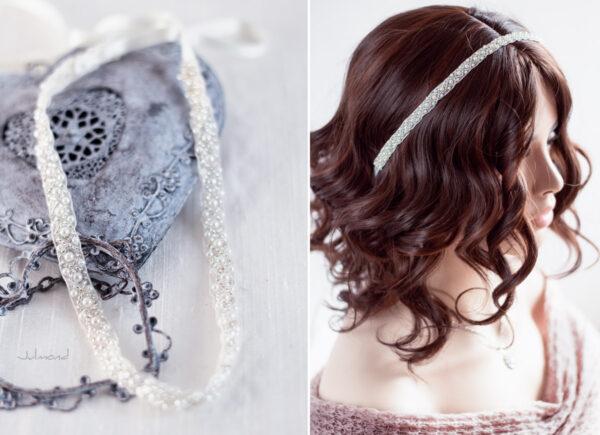 LaPerla Haarband Braut Perlen Hochzeit-13