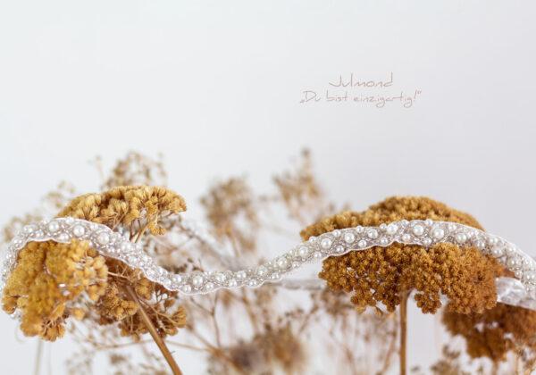 LaPerla Haarband Braut Perlen Hochzeit-24
