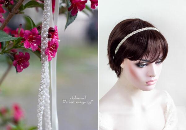LaPerla Haarband Braut Perlen Hochzeit-25