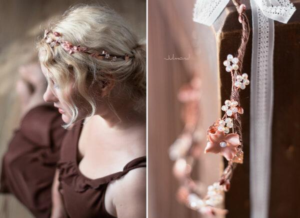 Larea Haarschmuck Braut Rosegold Elfenkrone-06