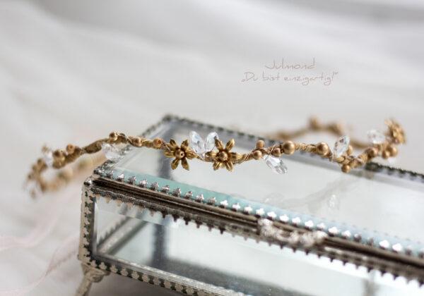 Leandra Haarschmuck Braut Gold-01