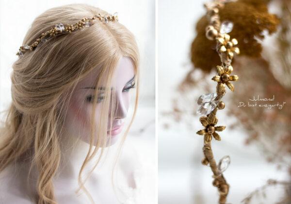 Leandra Haarschmuck Braut Gold-03
