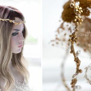 Leandra Haarschmuck Braut Gold-05