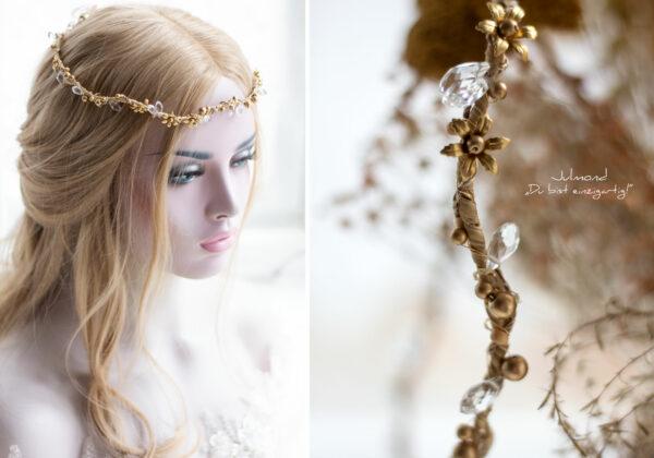 Leandra Haarschmuck Braut Gold-06